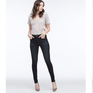 AG Farrah High Rise Skinny In Brooks Wash